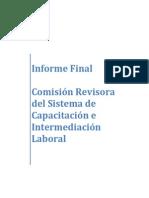 Informe Final Comisión Revisora. Larrañaga
