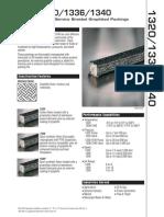 John Crane 1320 1336 1340 Technical Brochure