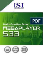MSI Megaplayer MS-5533 manual