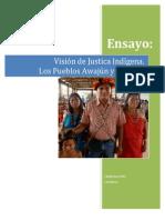 Vision Justicia Indigena Awajun Wampis