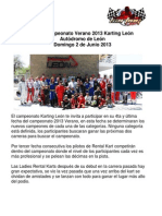 20 1304 Convocatoria Karting Leon