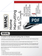 Wahl Home Haircutting