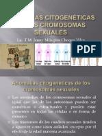 Anomalías Citogenéticas de Los Cromosomas Sexuales