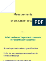 Lecture 6 Measurments