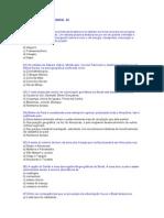 Exercícios e Gabaritos de Geografia Do Brasil - 2