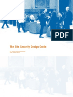 GSA Site Security Design Guide