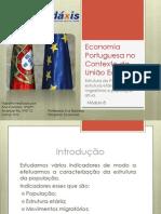Economia Portuguesa No Contexto Da União Europeia