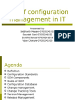 configuration management in IT
