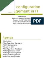 configuration management in IT