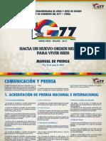 Manual G77 Prensa