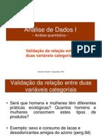 SPSS Qui-Quadrado Nominais