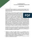 COMUNICADO DEL SECRETARIADO NACIONAL DE VÍA DEMOCRÁTICA DE MARRUECOS