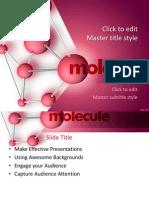 Molecule Ppt