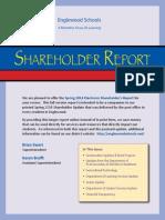 Englewood Schools Spring 2014 Shareholder Report