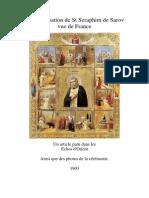 La canonisation de St Seraphim de Sarov.pdf