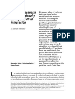 Botto, Mercedes Delich, Valentina Tussie, Diana-El Nuevo Escenario Político Regional y Su Impacto