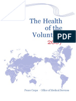 The Health of the Volunteer 2007  Peace Corps Annual Report of Volunteer Health  HOV_2007