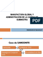 8. Manufactura Global y SCM