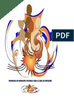 PROGRAMA DE FORMACIÓN PASTORAL  PARA EL ÁREA DE EDUCACIÓN