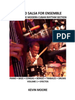 Sample Chart for eBook Beyond Salsa for Ensemble