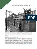 La Propaganda Anticomunista Durante La Guerra Fría