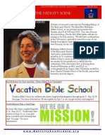 Nativity Scene Newsletter, June 2014