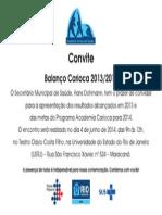 Convite Balanço Carioca 2013_2014