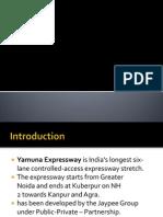 Project on Yamuna Expressway