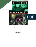Neil Gaiman Neverwhere 1998