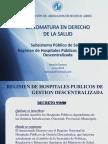 Subsistema Publico HPGD Junio 2014 Natalia Garozzo