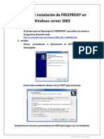 Manual de instalaci+¦n de freeproxy en Windows server 2003