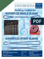 Andromeda Superflex Steel Slings - Small