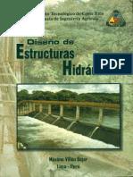 Diseño de Estructuras Hidráulicas - Máximo Villón B
