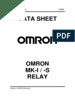 OMRON MK-I-S Relay