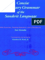 Gonda and Ford - Concise Elementary Grammar of the Sanskrit Language