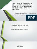 Diseño y Simulación de Un Sistema de Suministro de Energía Eléctrica Para Baterias de Baja Potencia Utilizando Micro Celdas de Combustion y Conversores Dc-dc