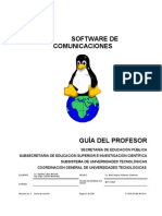 GUIA DEL PROFESOR Software de Comunicaciones Unidad 1 2