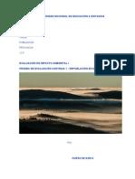 PED1 EVALUACIÓN-I UNED, Repoblacion Forestal Euskadi