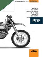 Manual Ktm Exc 450 Sd