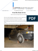 Brakes - Front Brakes Replacement
