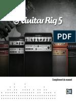 Guitar Rig 5 Manual Addendum French