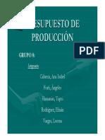 Ppto de Produccion