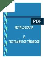 Metalografia e Tratamentos Térmicos_OK