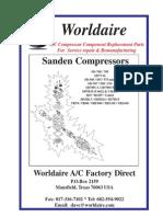 Partes Compresor Sanden