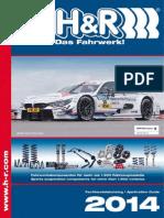 H&R Catalogo 2014