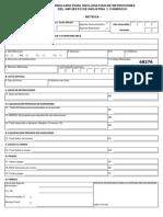 formulario reteica