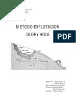 Método Open Stopes (Glory Hole)