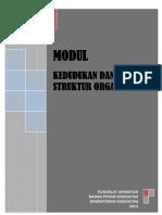 Kedudukan Dan Struktur Organisasi Kementerian Kesehatan