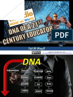 DNA of a 21st Century Educator at MoodleMOOC (MM4)