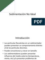 Sedimentación No Ideal